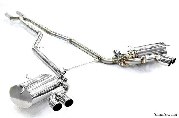 Photo2: [Maserati Gran Sport Exhaust Muffler] Cat-back F1 Sound Valvetronic Exhaust System