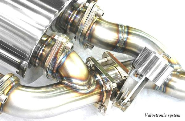 Photo2: [Maserati Coupe/Spyder Exhaust Muffler] Cat-back F1 Sound Valvetronic Exhaust System