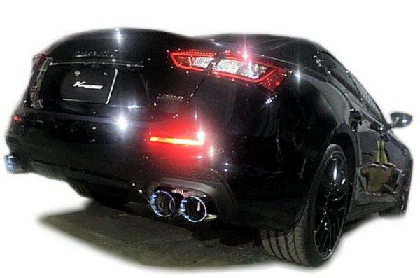 Photo1: [Maserati Ghibli V6 Exhaust Muffler] Cat-back F1 Sound Valvetronic Exhaust System