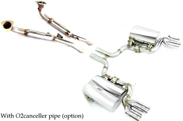 Photo5: [Maserati Quattroporte Exhaust Muffler] O2 Cannceller Pipe (For AT)