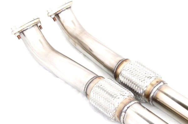Photo4: [NISSAN GT-R Exhaust Muffler] Stainless 2in1 Front Pipe