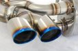 Photo6: [Porsche 997 Turbo Exhaust Muffler] Headers-back F1 Sound Valvetronic Exhaust System