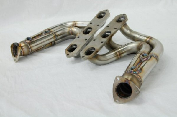 Photo2: [Porsche 987 Boxter Exhaust Muffler] O2 Canceler Headers(for Offroad)