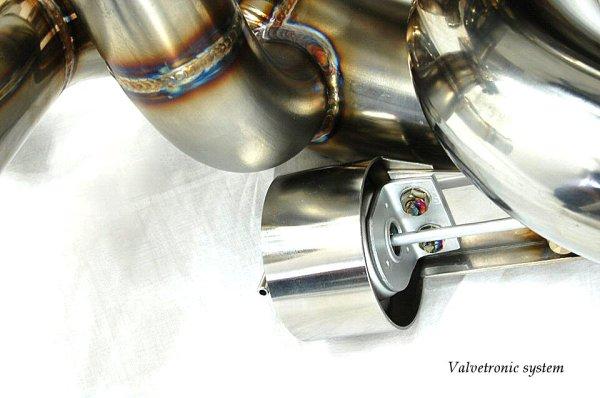 Photo2: [Porsche Carrera GT Exhaust Muffler] Cat,-back F1Sound Valvetronic Exhaust system