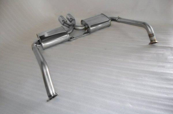 Photo2: [Porsche 987 Cayman Exhaust Muffler] First Cat-back F1 Sound Exhaust System Wonder Wolf Ver.