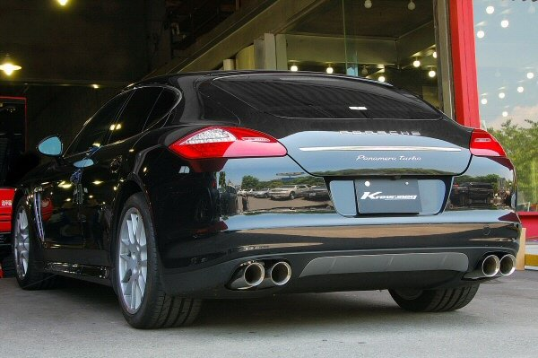 Photo1: [Porsche Panamera Exhaust Muffler] Cat-back F1sound Valvetronic exhaust system