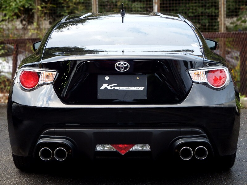 Photo1: [Toyota 86 Exhaust Muffler] Cat-back F1 Sound Valvetronic Exhaust System(W-tail)
