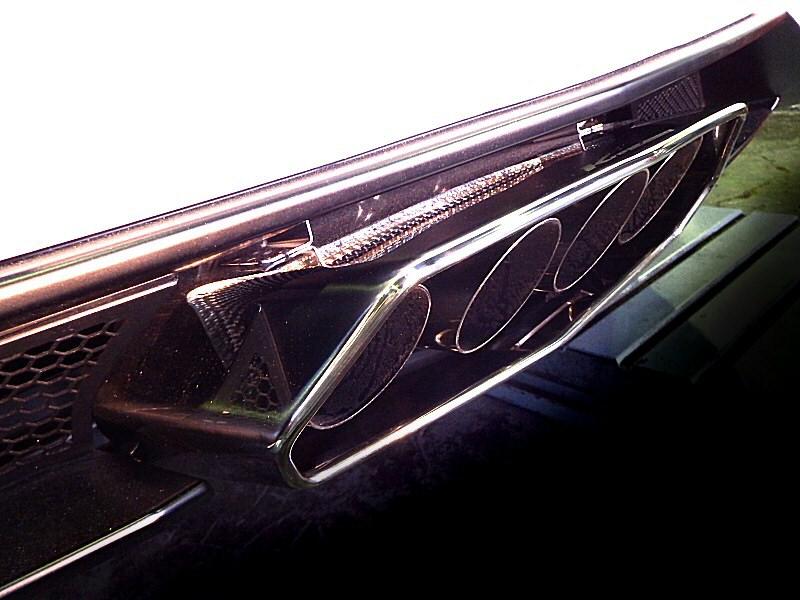Photo1: [Lamborghini Aventador Exhaust Muffler] Stainless Box tail