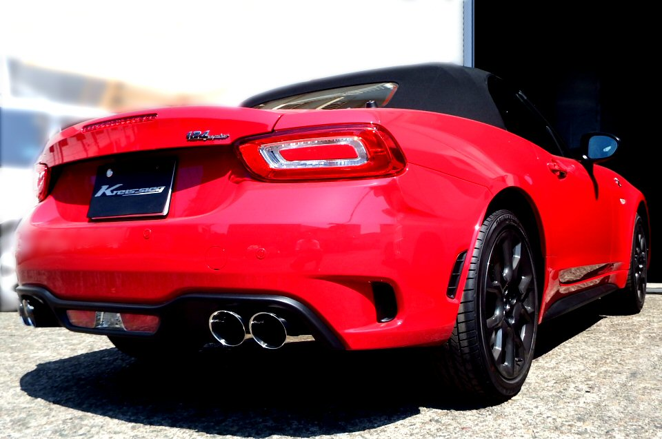 Photo1: [ABARTH 124Spider Exhaust Muffler] F1 Sound Valvetronic Exhaust System