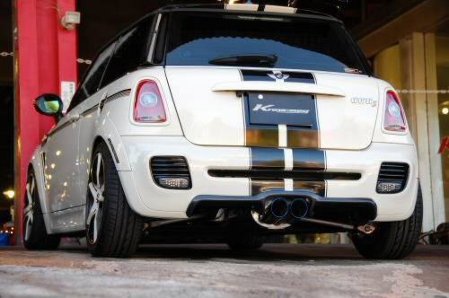 Photo1: [Mini Cooper S Exhaust Muffler] Cat-back F1 Sound Valvetronic Exhaust System