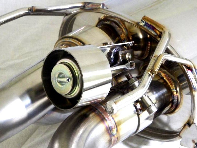 Kreissieg Toyota 86 Cat Back F1 Sound Valvetronic Exhaust