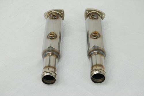 Photo2: [Aston Martin Vantage Exhaust Muffler] Stainless O2 Canceler pipe