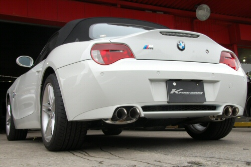 Photo1: [BMW E85 Z4M Exhaust Muffler] First Cat-back F1 Sound Valvetronic Exhaust System