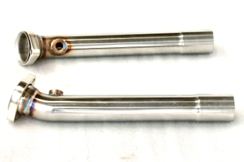 Photo4: [Ferrari 348 Exhaust Muffler] Stainless Bypass-pipe