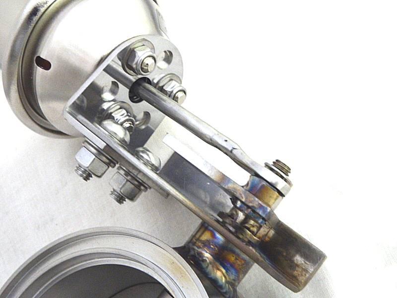 Photo5: [Ferrari F355 Exhaust Muffler] Heavy duty exhaust valve W/Large size actuator
