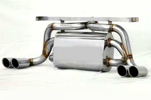 Photo1: [Ferrari F355 Exhaust Muffler] Cat-Back F1 Sound Valvetronic Exhaust System Super Howling Ver.