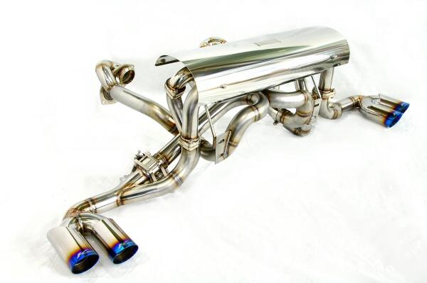 Photo1: [Ferrari F430 Exhaust Muffler] Headers-Back Bypass & Cat-Back F1 Sound Valvetronic Exhaust System Ver,2