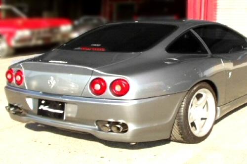 Photo1: [Ferrari 550 Exhaust Muffler] Cat-Back F1 Sound Valvetronic Exhaust System