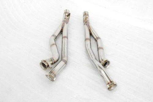 Photo2: [Ferrari 550 Exhaust Muffler] Stainless Front-Pipe