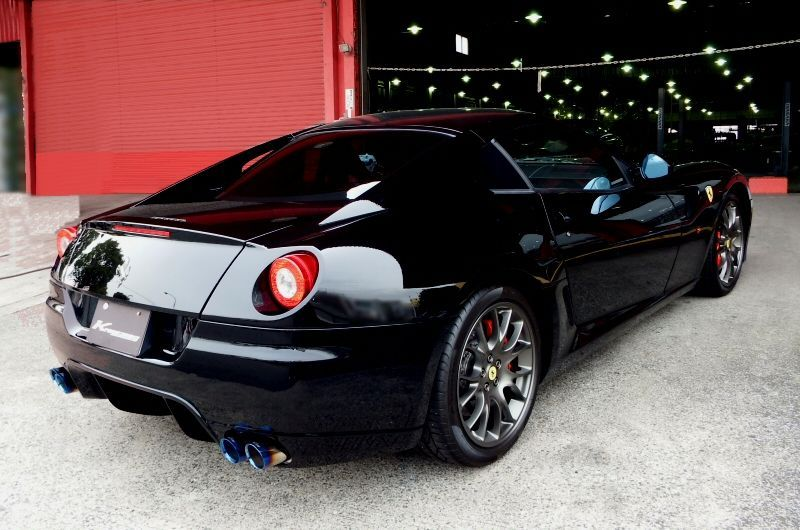 Photo1: [Ferrari 599 Exhaust Muffler] Kreissieg First Cat-Back F1 Sound Valvetronic Exhaust System