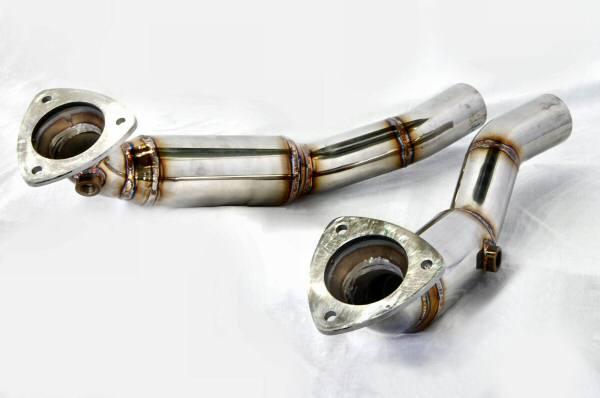 Photo1: [Ferrari California Exhaust Muffler] Stainless O2 Cannceller Pipe