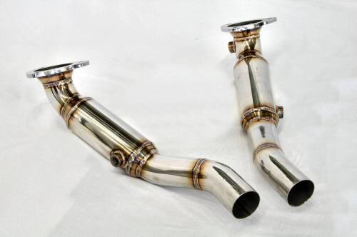 Photo2: [Ferrari California Exhaust Muffler] Stainless O2 Cannceller Pipe