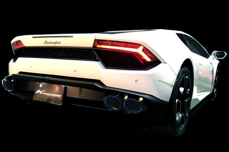 Photo1: [Lamborghini Huracan Exhaust Muffler] F1 Sound Valvetronic Exhaust System