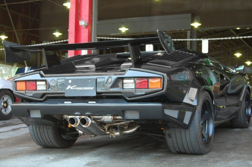 Photo1: [Lamborghini Countach Anv Exhaust Muffler] F1 Sound Valvetronic Exhaust System