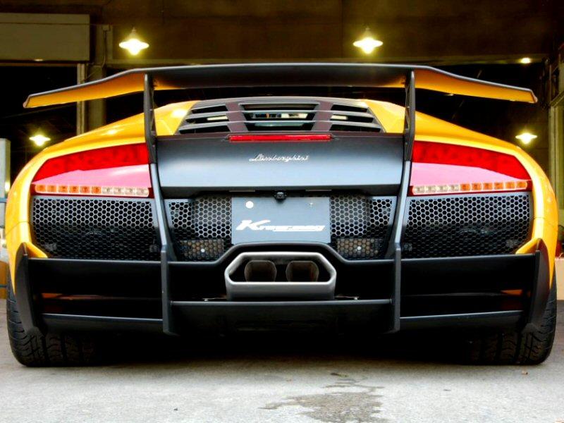 Kreissieg Lamborghini Murcielago Lp670 4sv Headers Back F1 Sound