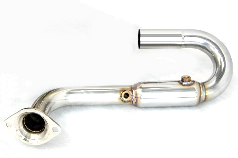 Photo2: [Lotus Exige Exhaust Muffler] Stainless O2 Cannceller Pipe