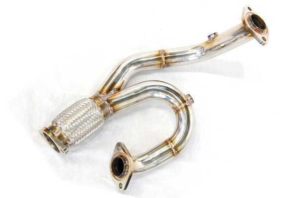 Photo1: [Lotus Exige S Exhaust Muffler] Stainless Isometric Front Pipe