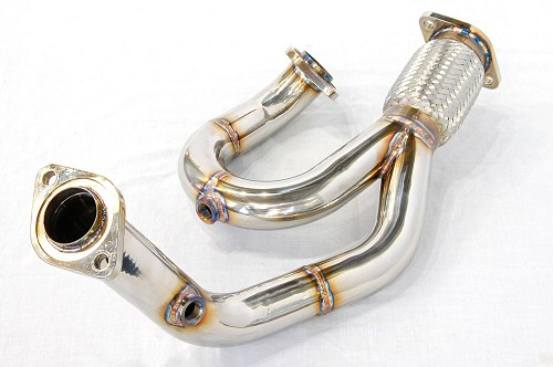 Photo2: [Lotus Exige S Exhaust Muffler] Stainless Isometric Front Pipe