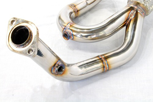 Photo3: [Lotus Exige S Exhaust Muffler] Stainless Isometric Front Pipe