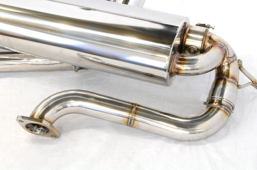 Photo4: [Lotus Exige S Exhaust Muffler] Stainless Isometric Front Pipe