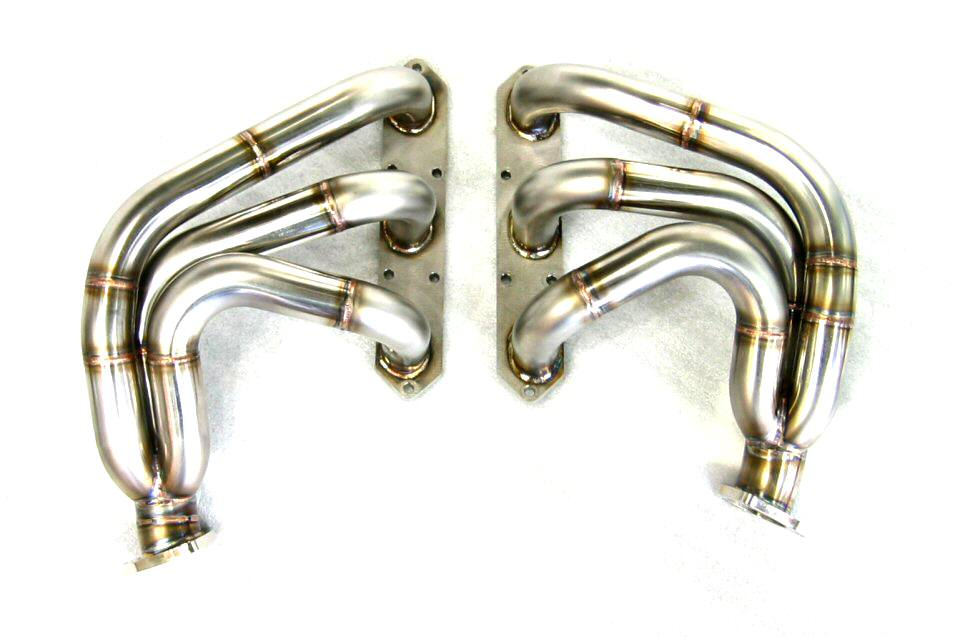 Photo1: [Porsche 996 GT3 Exhaust Muffler] Stainless Headers