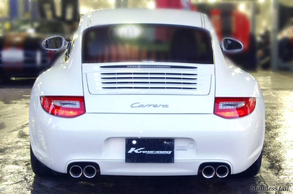 Photo1: [Porsche 997 Carrera Exhaust Muffler] Cat-back F1 Sound Valvetronic Exhaust System.