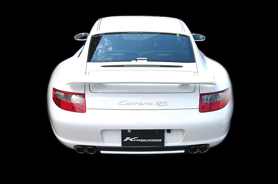 Photo1: [Porsche 997 Carrera Exhaust Muffler] Cat-back F1 Sound Valvetronic Exhaust System