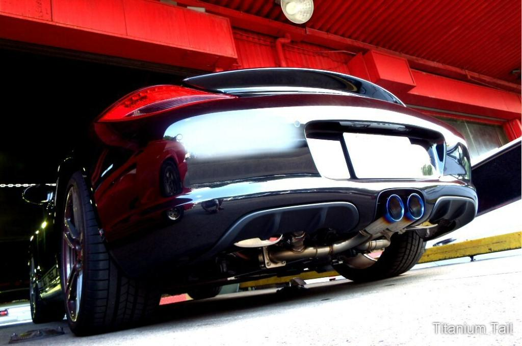 Photo1: [Porsche 987 Boxter Exhaust Muffler] First Cat-back F1 Sound Valvetronic Exhaust System