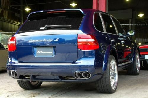 Photo1: [Porsche 957 Cayenne Exhaust Muffler]  Cat-back F1sound Valvetronic exhaust system
