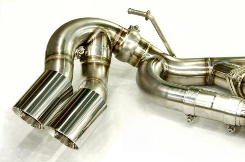 Photo3: [Porsche 957 Cayenne Exhaust Muffler]   F1 Sound Exhaust System Wonder Wolf Ver,