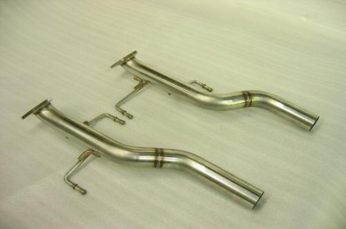 Photo2: [Porsche 957 Cayenne Exhaust Muffler]   Cat,-canceler pipe(for offroad)