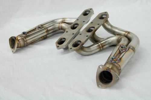 Photo2: [Porsche 987 Cayman Exhaust Muffler] O2 Canceler Headers(for Offroad)