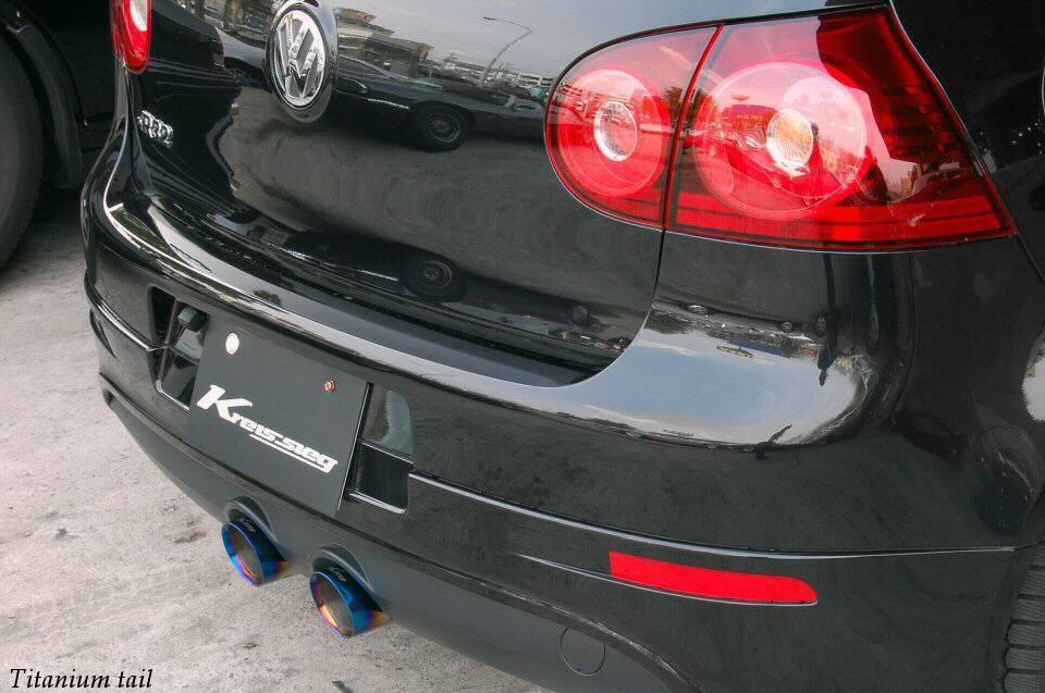 Kreissieg VW Golf R32 F1Sound Valvetronic Exhaust System